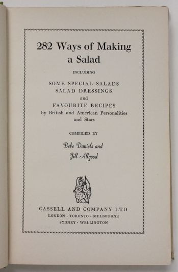 282 WAYS OF MAKING A SALAD -  image 3
