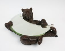 BLACK FOREST BEAR MIRROR