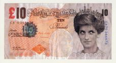 DI-FACED TENNER (Ten Pound Note)