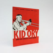 HAROLD DAVISON and NORMAN GRANZ present KID ORY AND HIS CREOLE JAZZ BAND.