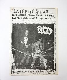 SNIFFIN GLUE and Other Rock 'n' Roll Habits for the New Wave!