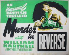 MURDER IN REVERSE.