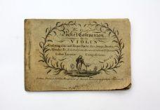 THE GENTLEMAN'S POCKET COMPANION FOR THE VIOLIN;
